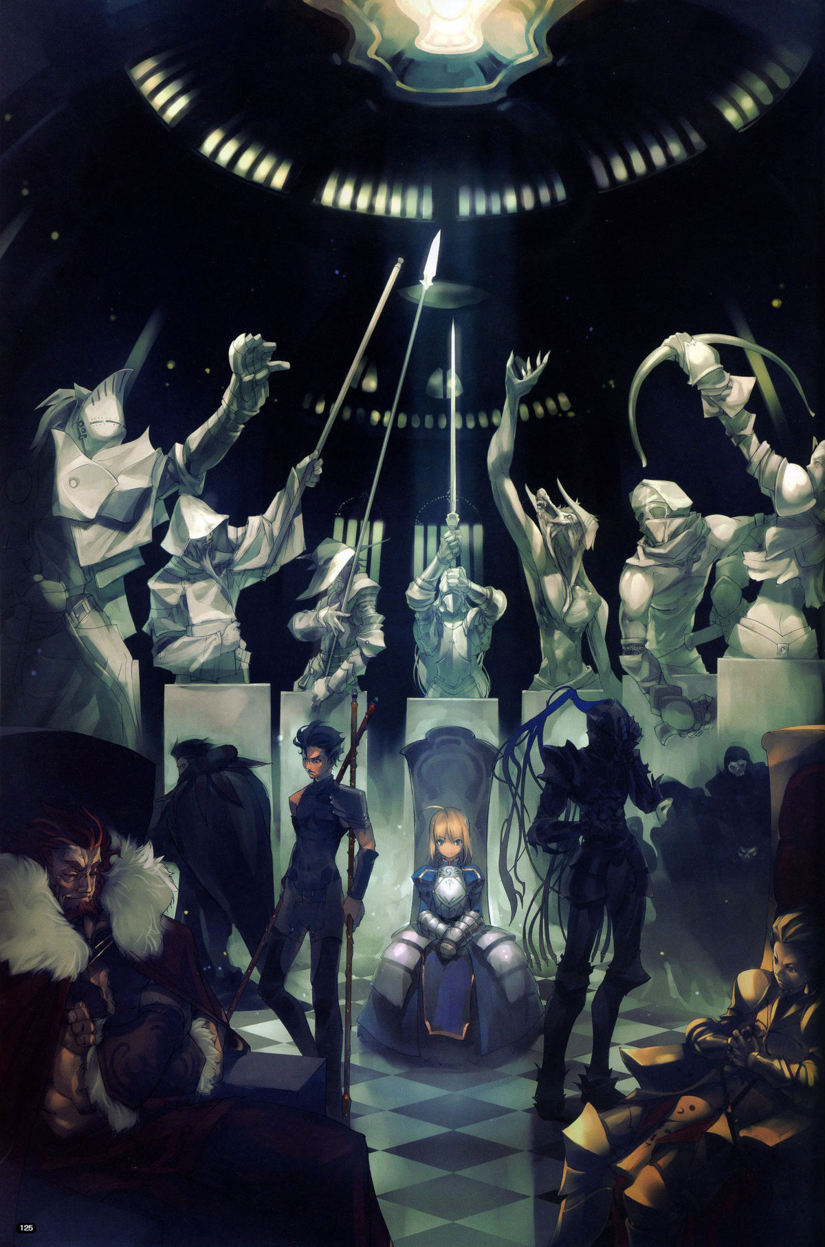 Let's see, Fate/Zero has just debuted and it was so impressive that ...: outakuya.wordpress.com/2011/10/10/fatezero-anime-review
